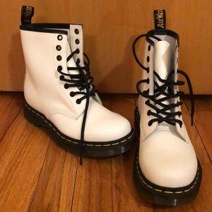 Women's Dr. Martens 1460 8- Eye Boot - White